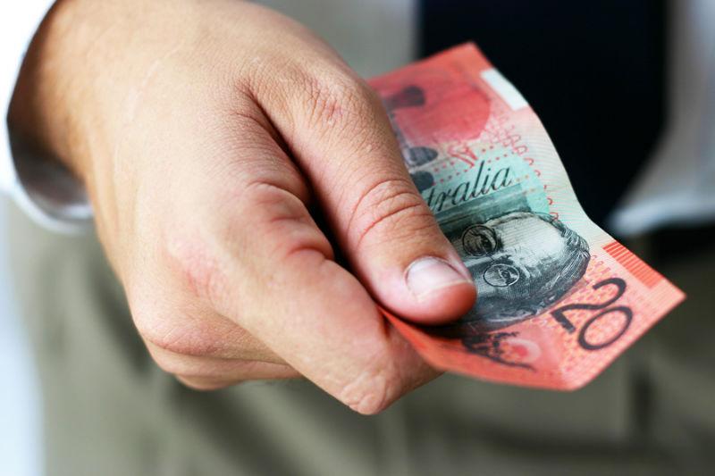 03.DollarA falls on weak inflation numbers