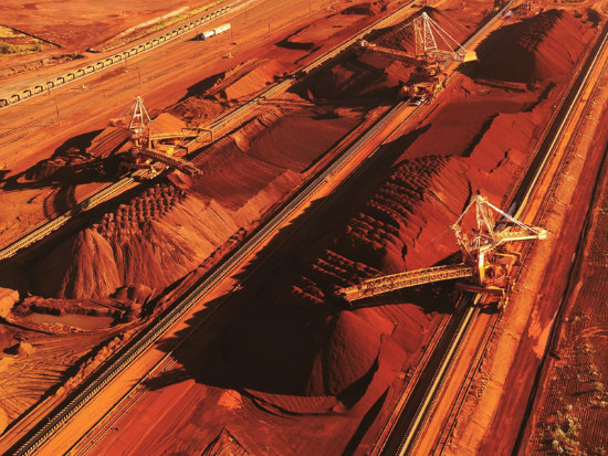 06_BHP eases iron ore production